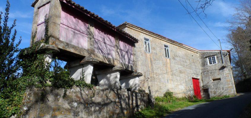 Casa grande do Curro en Vilariño