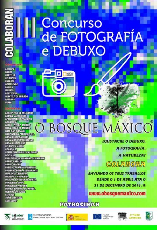 III Concurso de fotografía do Bosque Máxico