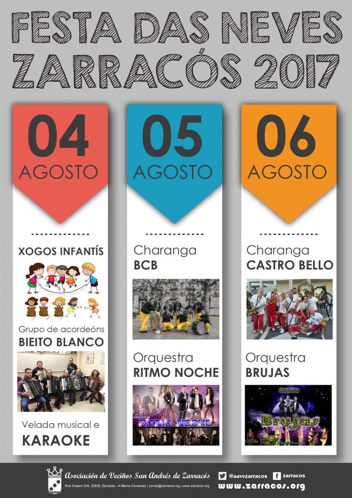 Festa das Neves Zarracós 2017