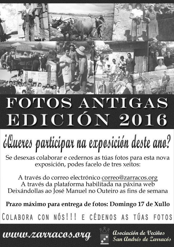 Recopilación de fotos para a -V Exposición de fotografías antigas da parroquia de Zarracós-