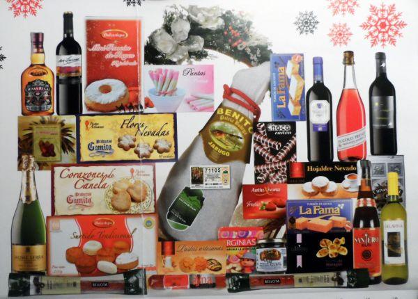 Esta será a cesta do sorteo de Nadal da Festa das Neves Zarracós 2015