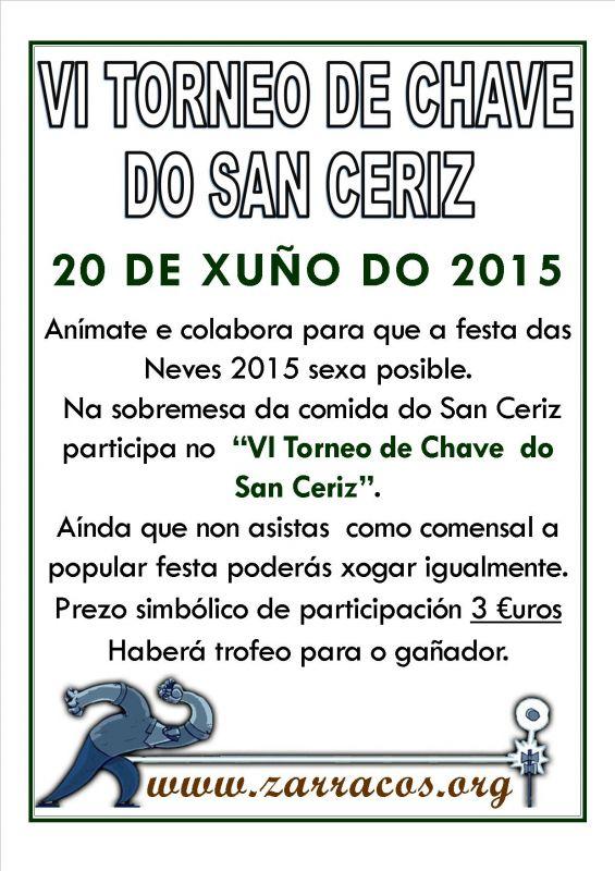 VI Torneo de Chave do San Ceriz 2015