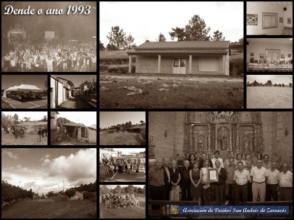 Historia de Asociación de Veciños San Andrés de Zarracós