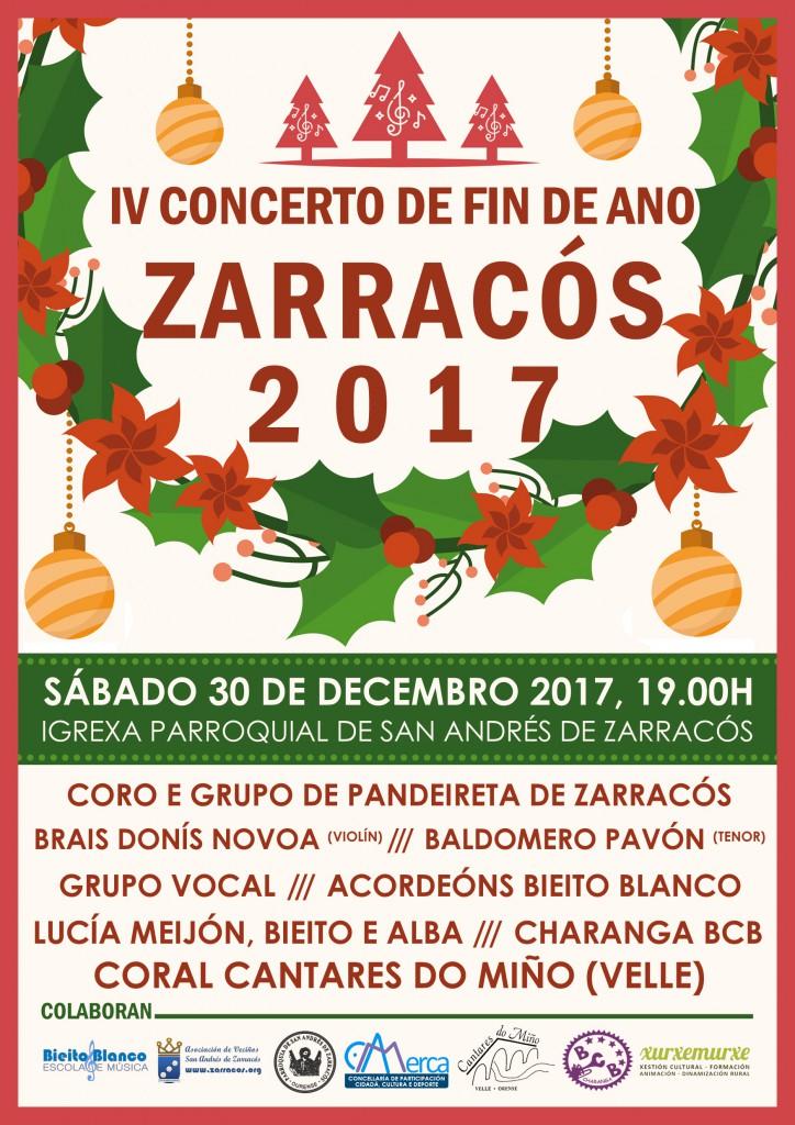 IV Concerto de fin de ano Zarracós 2017
