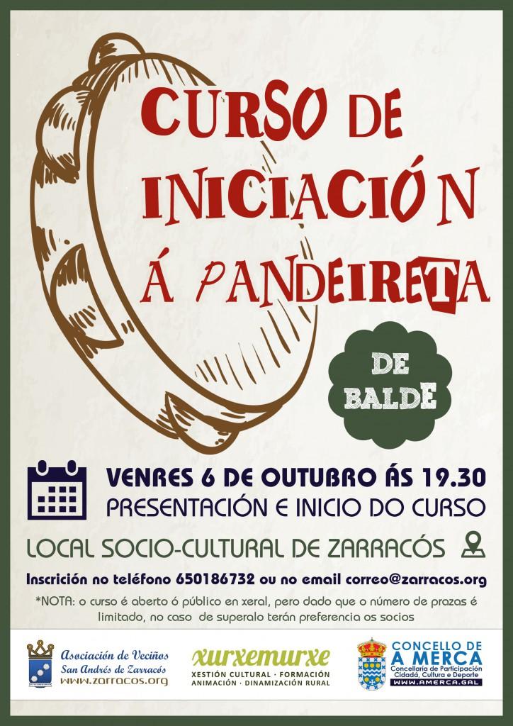 Curso de iniciación á pandeireta Zarracós 2017