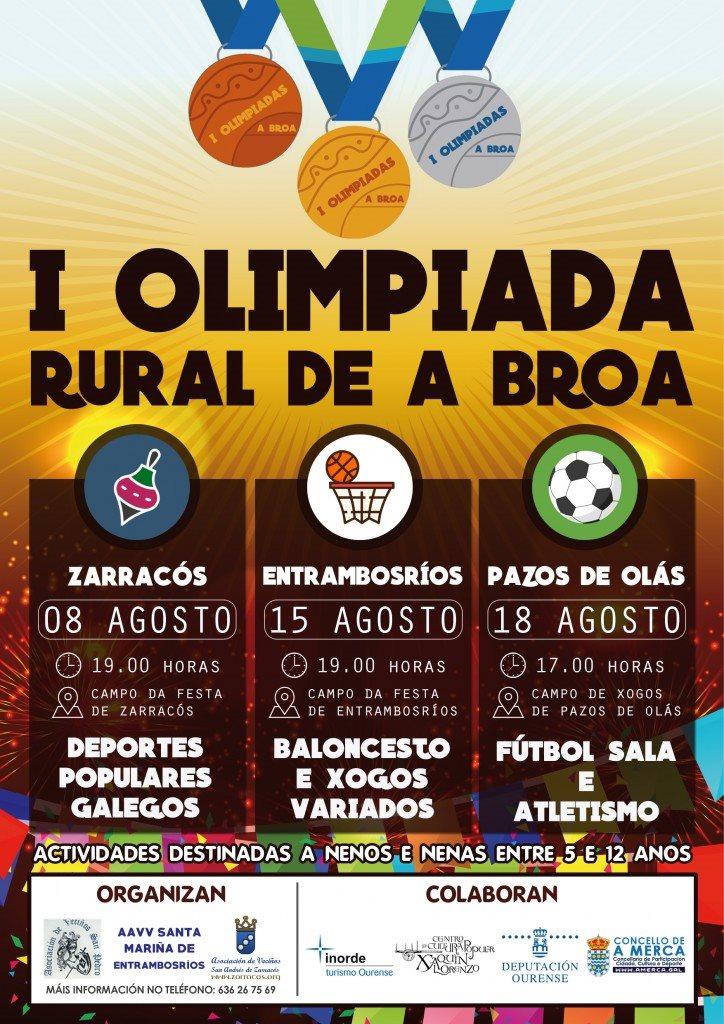 I Olimpíada Rural de A Broa 2017