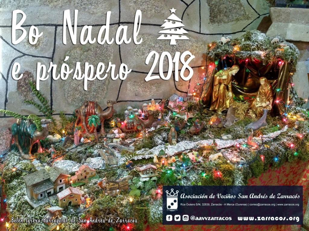 Bo Nadal e próspero ano 2018