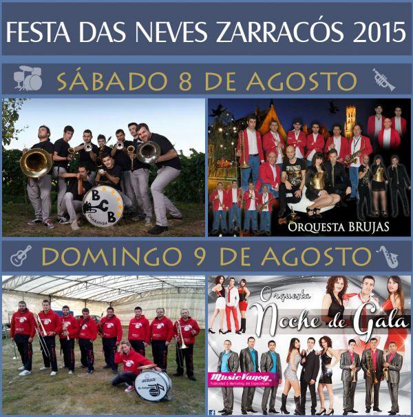 Festas das Neves Zarracós 2015