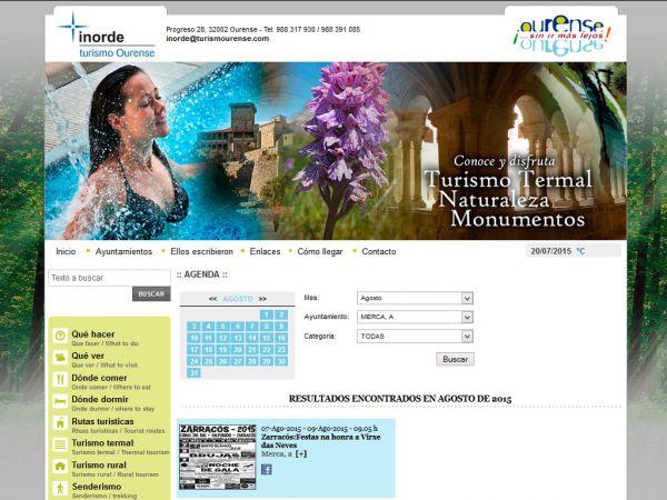 A festa das Neves Zarracós 2015 figura un ano máis na axenda de Turismo de Ourense