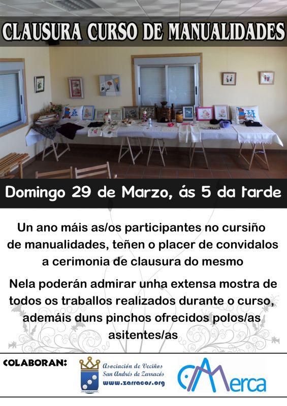 Clausura curso de manualidades 2014-2015