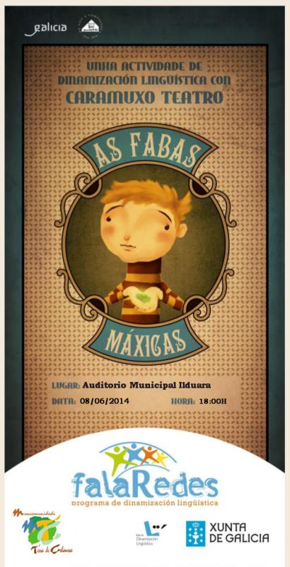 -As fabas máxicas- teatro de monicreques para nenos