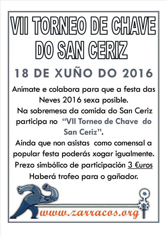 VII Torneo de Chave do San Ceriz 2016