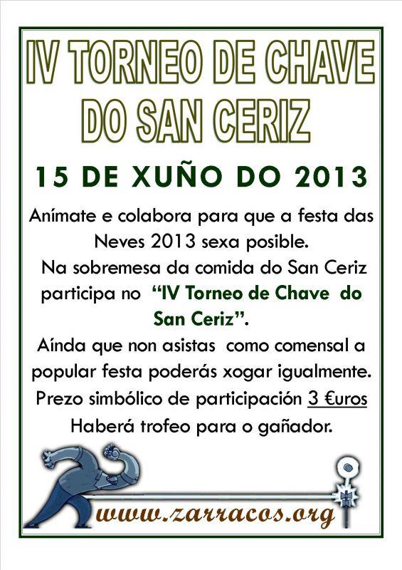 IV Torneo de Chave do San Ceriz 2013