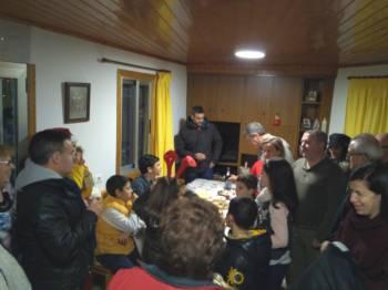 A tradición dos Cantos de Reis  segue viva na parroquia Zarracós